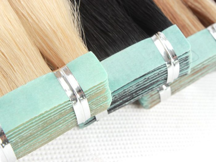 Tape Hair Blue Tape