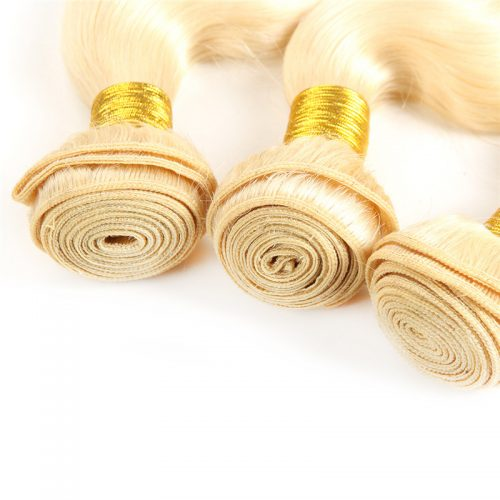Blonde Weft Hair Extension